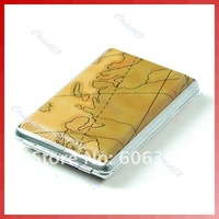 Pocket Cigarette Tobacco Box Case Map Holder 12Pcs