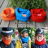 Sunshine store #2D2504 24pcs/lot  fashion baby gril&amp;amp;boy Neck warmers children women scarf  knitted scarf SWEETPEA CPAM