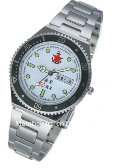 wristwatches,with white watch dail,waterproof,cool design with nice cool gift box,luxury watch(China (Mainland))