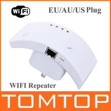 100% Original Wireless- N Wifi Repeater 802.11n / B / G Rede Router Faixa Expander 300M Antena Signal Booster Wi fi Roteador(China (Mainland))