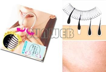 100pcs /lot Facial Threading Epistick Epilator Spring Hair Remover Removal Stick 726