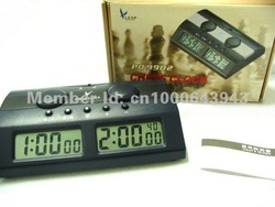 LEAP MASTER TOURNAMENT DIGITAL CHESS SET GAME CLOCK TIMER HANDHELD ELECTRONIC BOARD HANDHELD ELECTRONIC Player QUARTZ TRANIER(China (Mainland))