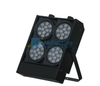 Free Shipping Guaranteed 100%  Factory Sales Big Power 72*3W RGB LED Washer Light Blinder Light LED Audience Light