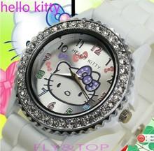 cheap hello kitty plastic watch