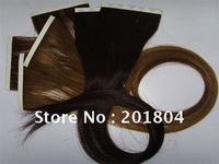 100% high quality fashion remy tape hair extensions 20""