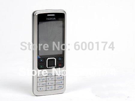 caldo telefono a basso costo sbloccato originale nokia 6300 macchina fotografica classica tastiera lingua russa rinnovato i telefoni cellulari