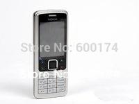 HOT cheap phone unlocked original  Nokia  6300 classic camera russian language keyboard refurbished mobile phones