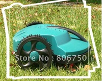 200m Virtual Wire&200 Pegs/Automatic  Robot Lawn Mower+Remote Controller+Li-ion Battery+Rain Sensor+Free Shipping