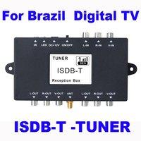 Car ISDB-T TV Receiver for Brazil Japan Car Digital TV ISDB-T Box HongKong Post Free Shipping