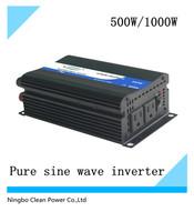 CleanPowr Brand 500w/1000W pure sine wave  inverter /Solar off grid inversor(CP-P-500W)