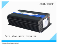 Hot selling! 12v/24vdc to 230vAC 800w /1600W power inverter pure sine wave inverter (CP-P-800W)