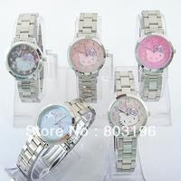 3pcs/lot Free shipping Hello Kitty Watches 5711