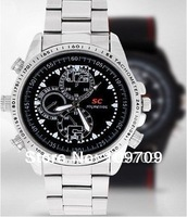 8GB Watch Camera 720 x 480 Waterproof 807 Hidden Camera DV DVR Hide Definition wholesale
