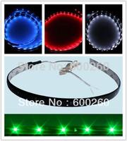Free shipping 30cm 15 SMD LED waterproof Flexible Strip 3528 led red blue white green Light Car Van 12V New //8328