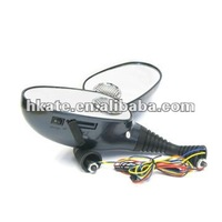New Motorcycle rear mirror mp3 player support sd/sdhc/tf/usb/audio in M336A