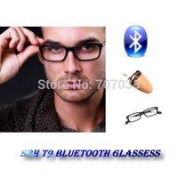 Free Shipping 100% original premium bluetooth glasses and  wireless micro 205 earpiece set covert  earpiece 205 earpiece