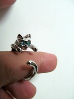 cat ring,cat modelling style  Adjustable free shipping