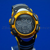 OHSEN Girls/Boys Yellow Digital Waterproof Chronograph Alarm Stop Sport Quartz Wrist Watches 0815