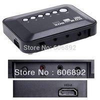 HD Media player 1080P Full HD Mini Multi-Media Player with Remote Control HDMI Output SB/SD free shipping