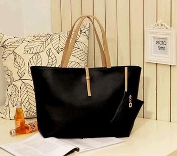 Woman's handbags simple shoulder bags fashion handbags free shipping wholesale BTP002