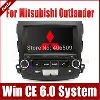 "8"" Head Unit Car DVD Player for Mitsubishi Outlander 2007-2013 w/ GPS Navigation Radio Bluetooth TV USB AUX 3G Map Stereo Audio"
