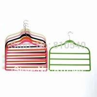 ULTRA-SLIM Multifunctional  bars velvet flocked non-slip pants hanger