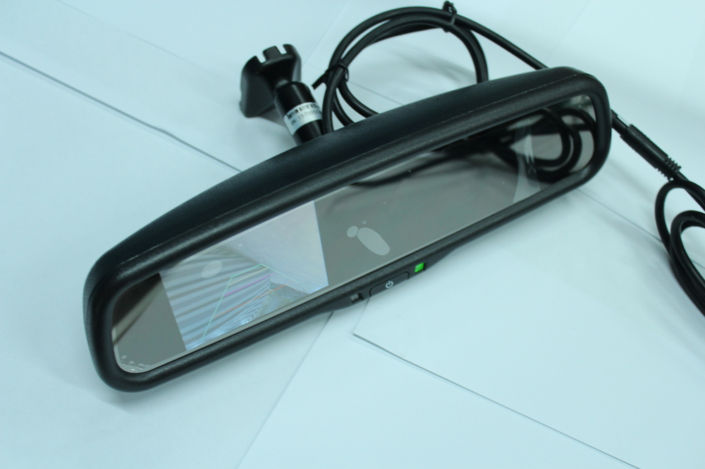 latest auto parts of rear view mirror display rearview mirror monitor/for cars your best choice(China (Mainland))