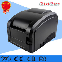black usb port GP-3120 Barcode Printer thermal barcode printer