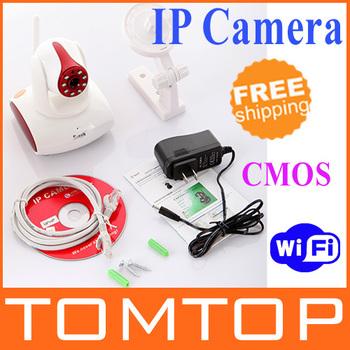 EasyN Wireless WiFi UPnP IP Camera CMOS Security System PT  IR Cut CCTV Camera, Retail box . Freeshipping , dropshipping