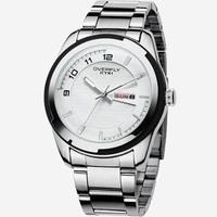 NEW MODEL !!FREE SHIPPING!! EYKI brand fashion quartz analog watch with calendar men's watch 3 colours 10pcs/lot W8536