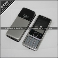 For Nokia original 6300 Full Housing Cover Case with Keypad +free shipping