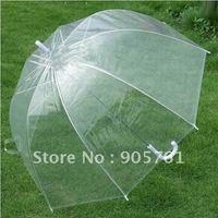 Retail Hot Selling Fashion Apollo Transparent Umbrella Clear Bubble Umbrella Gossip Girl Mushroom Umbrella Free Shipping