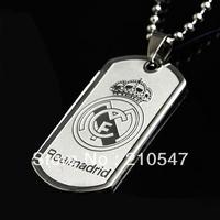 Wholesale & Free Shipping Football team(Realmadrid) pendant,316L stainless steel pendant,titanium steel jewelry findings DZ056