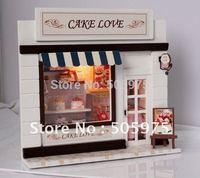 dollhouse,diy  Doll house, ,wooden house model,dollhouse miniature.european miniature shop