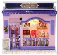 european miniature shop  miniature diy dollhouse,baby house