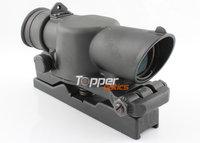 Strongly Built L85 SUSAT Type Tactical 4X Sight Rifle Shotgun Scope w/ Quick Detach Weaver Mount, 3530B