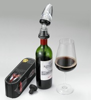 Free shipping,HOT Sell 100pcs, New arrival Wine Decanter ,Red Wine Aerator Filter,Wine Essential Equipment