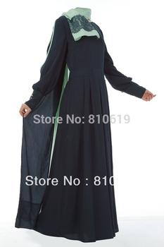 Hot sale Islamic dubai style, women's abaya  TK-378 Series(MOQ: 2 Pieces) ,(Abaya , Jilbab, muslim woman's cloth ,arabic cloth)