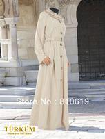 Islamic TURKISH Women's JILBAB , Coat TK-280  Series(MOQ: 1 Piece) ,(Abaya , Jilbab, muslim woman's cloth )