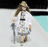 Baby girls' dress kids fashion vest sleeveless Monn* Girl one piece girls dresses 0323 B zxj