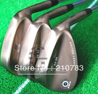 2012 Hot Sell  New Golf Clubs BV MS4 golf Wedges Brown 52.56.60 loft set Regular/shaft 3pc/lot.Ems Free Shipping