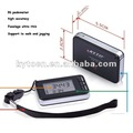 meet European and American standard 3D USB pedometer