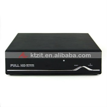 "Z9D 3.5"" SATA HDD 1080P Full HD Network Media Player DVB-T TV Box,Free Shipping"