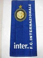 FC Internazional cotton towels / Inter milan fans  towel / size:75*36CM