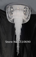GD3071-6  NEW WARM WHITE & BLUE LIGHT  H1200 SCREEN DESIGN CRYSTAL CHANDELIER/PENDANT LAMP/CRYSTAL LIGHTING /FREE SHIPPING