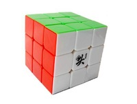 Free shipping of dayan Guhong  mixed Dayan GuHong 3x3 Cube 6 Color Stickerless