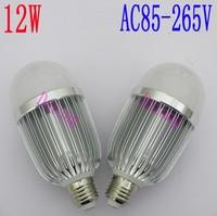 Free shipping sale 2 years warranty E27 B22 12W LED Bulb,AC85V-265V,12W LED BULB LAMP Luminous Flux:1560LM