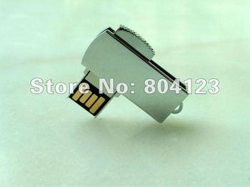 Free Shipping! Logo printing 2GB to 64GB Metal gift usb flash pen drive memory disk pendrive Ultra-thin mini USB flash drive