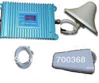 FREESHIPPING DHL FEDEX , LCD DISPLAY !GSM/3G,dual band signal booster repeater/amplifier full set