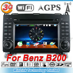 Special Mercedes BENZ W169 Vito Viano B200 Car GPS DVD Player Stereo Radio Bluetooth Phone(China (Mainland))